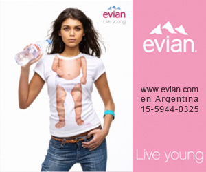 Evian Agua Sponsor oficial